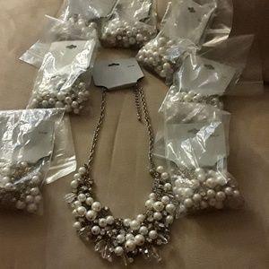 8 statement necklace Lot